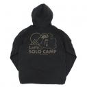【グッズ-ジャンパー・コート】ゆるキャン△ リンのソロキャン マウンテンジャケット/BLACK-XLの画像