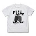 【グッズ-Tシャツ】ゆるキャン△ リン&なでしこシュラフ Tシャツ/WHITE-Lの画像