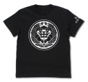 【グッズ-Tシャツ】賭ケグルイ 私立百花王学園 Tシャツ/BLACK-Lの画像