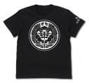 【グッズ-Tシャツ】賭ケグルイ 私立百花王学園 Tシャツ/BLACK-XLの画像