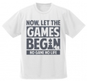 【グッズ-Tシャツ】ノーゲーム・ノーライフ  さあゲームを始めよう ドライTシャツ/WHITE-XLの画像
