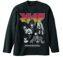 【グッズ-Tシャツ】ゾンビランドサガ フランシュシュ リブなしロングスリーブTシャツ/BLACK-XLの画像