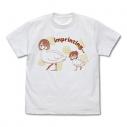 【グッズ-Tシャツ】私に天使が舞い降りた! みやことひなたの刷り込み Tシャツ/WHITE-XLの画像