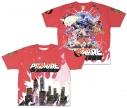 【グッズ-Tシャツ】プロメア 両面フルグラフィックTシャツ XLの画像