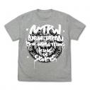 【グッズ-Tシャツ】新日本プロレスリング ライオンマーク Tシャツ グラフィティVer./MIX GRAY-XLの画像