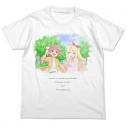 【グッズ-Tシャツ】私に天使が舞い降りた! ひなた&乃愛 フルカラーTシャツ/WHITE-XLの画像
