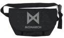 【グッズ-バッグ】ゴジラ キング・オブ・モンスターズ MONARCH メッセンジャーバッグ/BLACKの画像