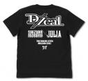 【グッズ-Tシャツ】アイドルマスター ミリオンライブ! D/Zeal Tシャツ/BLACK-XLの画像