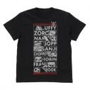 【グッズ-Tシャツ】ワンピース レヴェリー編麦わらの一味 Tシャツ/BLACK-XLの画像