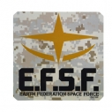 【グッズ-ステッカー】機動戦士ガンダム 地球連邦軍 耐水ステッカーの画像