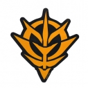 【グッズ-ステッカー】機動戦士ガンダム ジオン 耐水ステッカーの画像