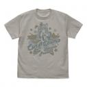 【グッズ-Tシャツ】スター☆トゥインクルプリキュア キュアコスモ Tシャツ/LIGHT GRAY-Lの画像