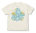 【グッズ-Tシャツ】スター☆トゥインクルプリキュア キュアコスモ Tシャツ/VANILLA WHITE-Lの画像