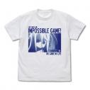 【グッズ-Tシャツ】ノーゲーム・ノーライフ 人生は無理ゲー Tシャツ/WHITE-XLの画像