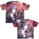 【グッズ-Tシャツ】アイドルマスター シンデレラガールズ 手折られぬ花 白菊ほたる 両面フルグラフィックTシャツ XLの画像