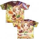 【グッズ-Tシャツ】アイドルマスター シンデレラガールズ ひまわりサニーデイ 龍崎薫 両面フルグラフィックTシャツ XLの画像