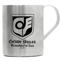 【グッズ-マグカップ】機動戦士ガンダム0080 サイクロプス隊 二層ステンレスマグカップの画像