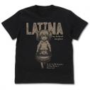 【グッズ-Tシャツ】うちの娘の為ならば、俺はもしかしたら魔王も倒せるかもしれない。 ラティナ Tシャツ/BLACK-XLの画像