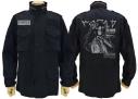 【グッズ-ジャンパー・コート】ノーゲーム・ノーライフ ゼロ シュヴィ M-65ジャケット BLACK XLの画像