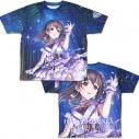 【グッズ-Tシャツ】アイドルマスター シンデレラガールズ なよ竹の美器 藤原肇 両面フルグラフィックTシャツ XLの画像