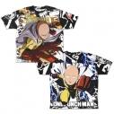 【グッズ-Tシャツ】ワンパンマン サイタマ 両面フルグラフィックTシャツ/XLの画像