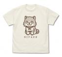 【グッズ-Tシャツ】私に天使が舞い降りた! 犬のみやこ Tシャツ VANILLA WHITE-XLの画像