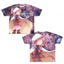 【グッズ-Tシャツ】マギアレコード 魔法少女まどか☆マギカ外伝 環 いろは 両面フルグラフィックTシャツ XLの画像