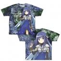 【グッズ-Tシャツ】マギアレコード 魔法少女まどか☆マギカ外伝 七海やちよ 両面フルグラフィックTシャツ XLの画像