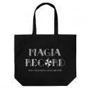 【グッズ-バッグ】マギアレコード 魔法少女まどか☆マギカ外伝 MAGIA RECORD ラージトート BLACKの画像