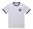 【グッズ-Tシャツ】アイドルマスター ミリオンライブ! 閃光☆HANABI団 学校Tシャツ WHITE×NAVY-XLの画像