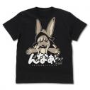 【グッズ-Tシャツ】メイドインアビス「深き魂の黎明」 ナナチのんなぁ~Tシャツ BLACK-XLの画像