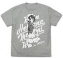 【グッズ-Tシャツ】冴えない彼女の育てかた Fine 加藤恵ヴィンテージ Tシャツ/MIX GRAY-XLの画像