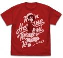 【グッズ-Tシャツ】冴えない彼女の育てかた Fine 加藤恵ヴィンテージ Tシャツ/RED-XLの画像