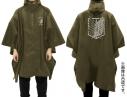 【グッズ-ジャンパー・コート】進撃の巨人 調査兵団 レインポンチョ MOSSの画像