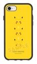 【グッズ-カバーホルダー】ポケットモンスター IIIIfit iPhone SE(第2世代)/8/7/6s/6 対応ケース ピカチュウフェイスの画像