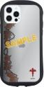 【グッズ-カバーホルダー】ヴィジュアルプリズン iPhone 12/12 Pro 対応 ハイブリッドクリアケース ロストエデンの画像