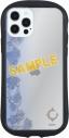 【グッズ-カバーホルダー】ヴィジュアルプリズン iPhone 12/12 Pro 対応 ハイブリッドクリアケース イクリプスの画像