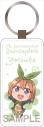 【グッズ-キーホルダー】五等分の花嫁 ぷちひめ レザーキーホルダー 四葉の画像