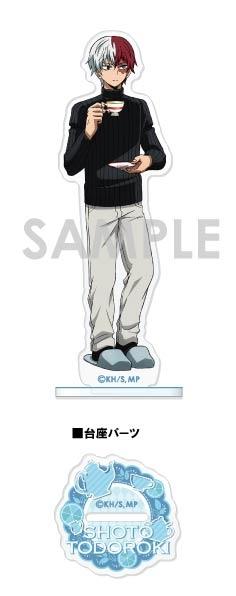 【グッズ-スタンドポップ】僕のヒーローアカデミア アクリルスタンド~お茶会~ D.轟 焦凍【アニメイト先行販売】