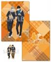 【グッズ-セットもの】ハイキュー!! TO THE TOP A4クリアファイル&ダイカットステッカーセット ~Autumn&Winter~ 2.影山&菅原【アニメイト限定】の画像