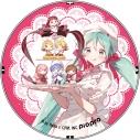【グッズ-バッチ】初音ミク characters Macaron 発売記念グッズ 缶バッジの画像