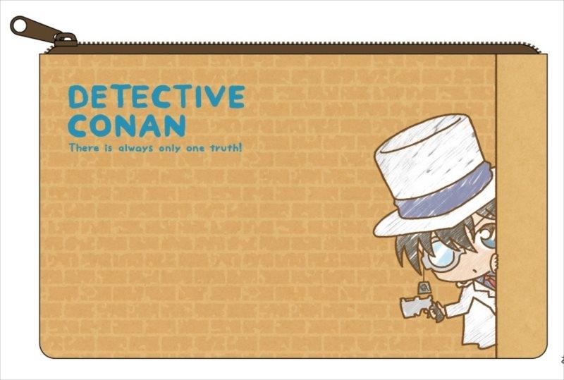 【グッズ-ポーチ】名探偵コナン ついせきちゅうポーチ キッド