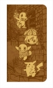 【グッズ-カバーホルダー】ポケットモンスター セピアグラフィティ 汎用ブックタイプ スマホケース バックストリートの画像