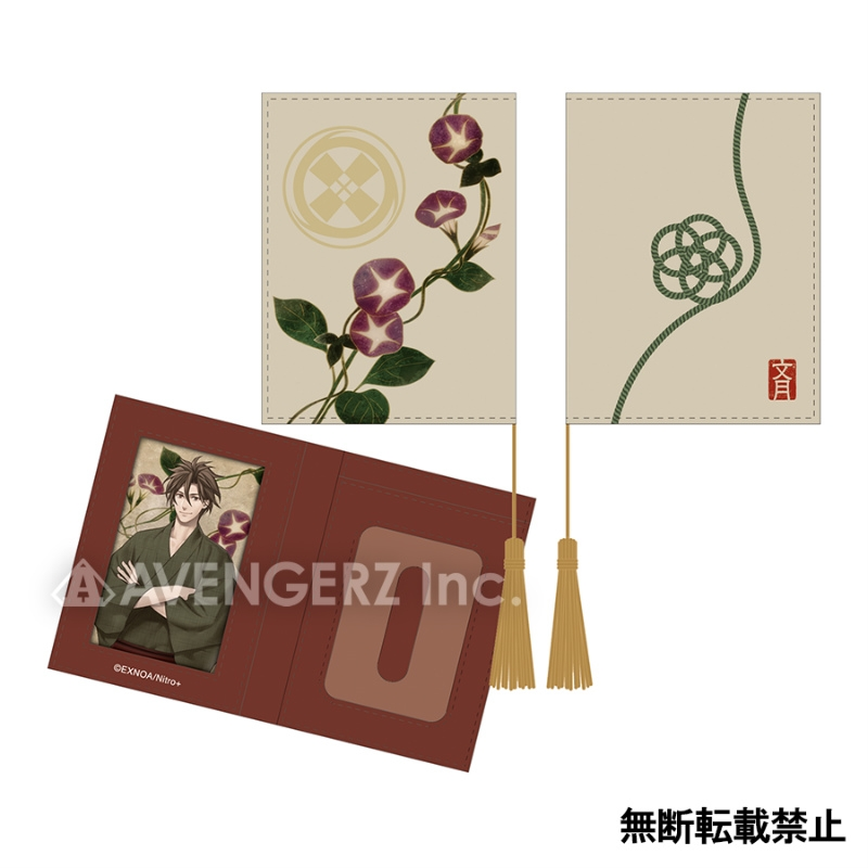 刀剣乱舞-ONLINE- 華こよみ絵巻 パスケース 御手杵_0