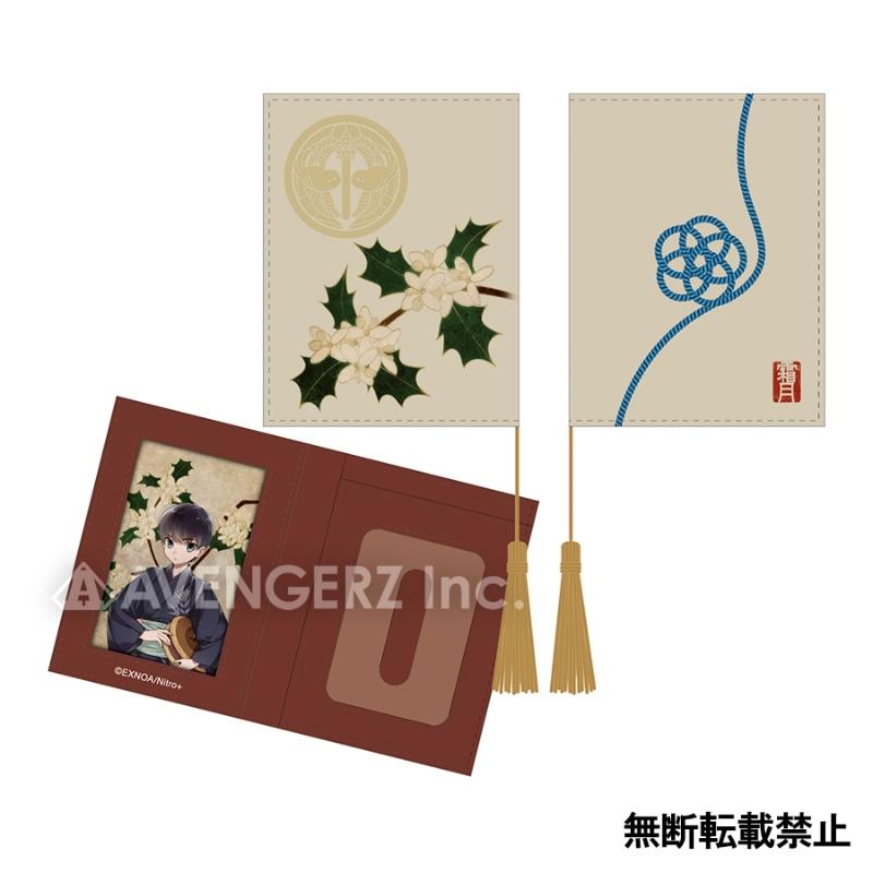 刀剣乱舞-ONLINE- 華こよみ絵巻 パスケース 謙信景光_0