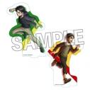 【グッズ-スタンドポップ】進撃の巨人 アクリルスタンド 描き下ろし2019 エレン&リヴァイの画像