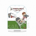 【グッズ-スタンドポップ】銀魂×Sanrio characters かざれるアクリルスタンド TOSSY & OKKYの画像