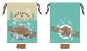 【グッズ-巾着袋】ユーリ!!! on ICE 冬のマッカチン 巾着 Cの画像