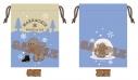 【グッズ-巾着袋】ユーリ!!! on ICE 冬のマッカチン 巾着 Dの画像