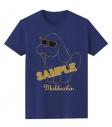 【グッズ-Tシャツ】ユーリ!!! on ICE マッカチンの夏休み Tシャツ サングラス ver.の画像